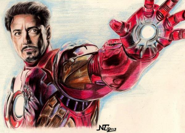 Iron Man by NOE